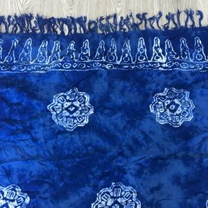 Light and Flowing Blue Tie Dye Sarong💙
